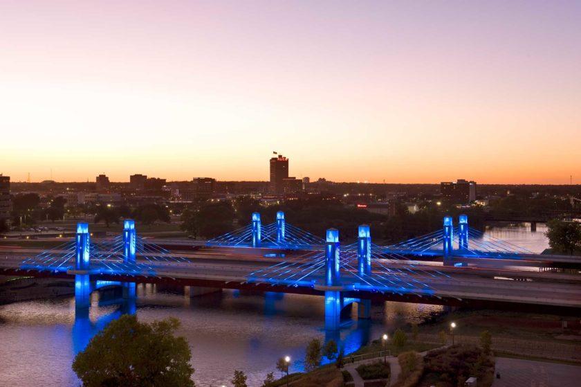 Waco Bridge – Waco – Texas – Usa