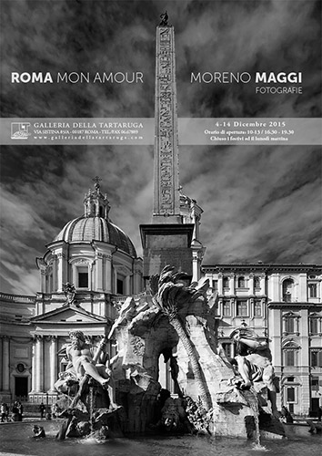 """""""ROMA MON AMOUR"""" Mostra personale alla Galleria della Tartaruga a Via Sistina Roma"""