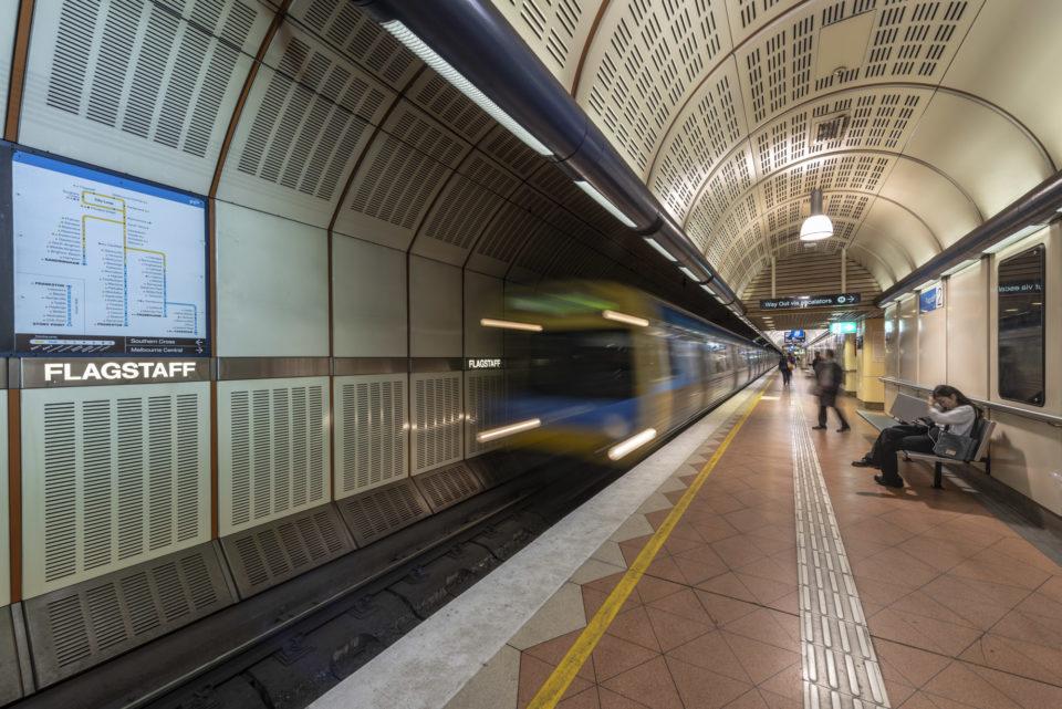 Flagstaff Metro Station – Melbourne – Australia